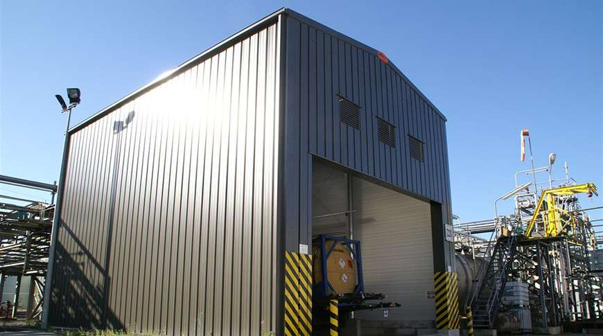 steel industrial buildings chemical industry