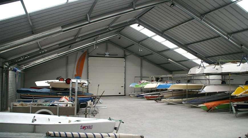 storage buildings sports hall PESB prefab steel