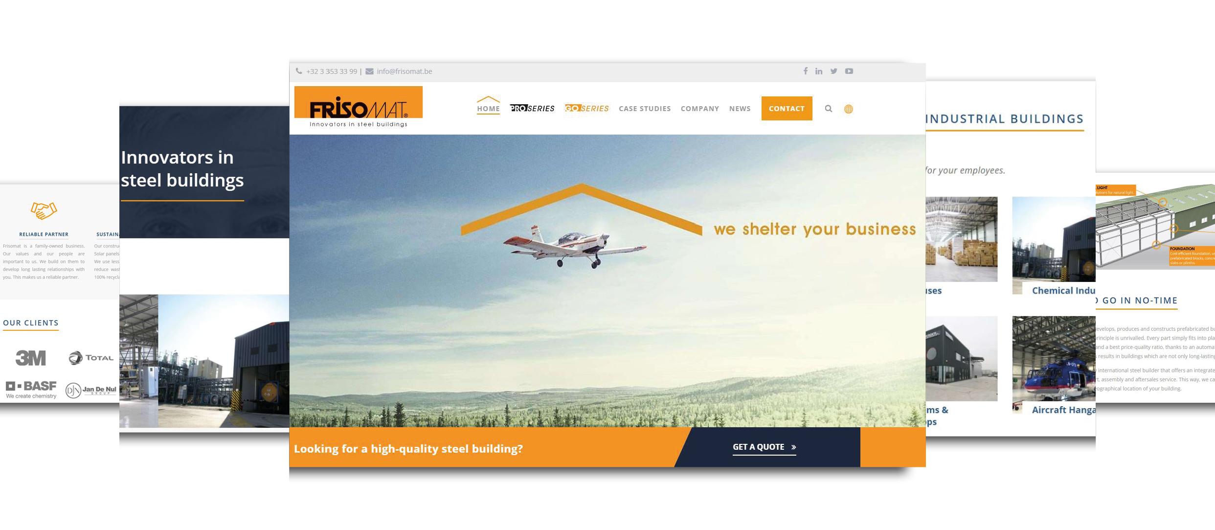Nowa szata graficzna strony internetowej Frisomat